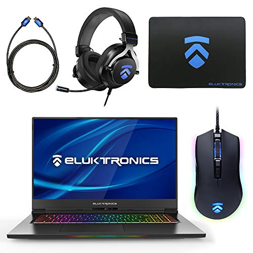 Best Prices! Eluktronics MAX-17 Slim & Ultra Light Notebook PC: Intel i7-9750H NVIDIA GeForce RTX 20...