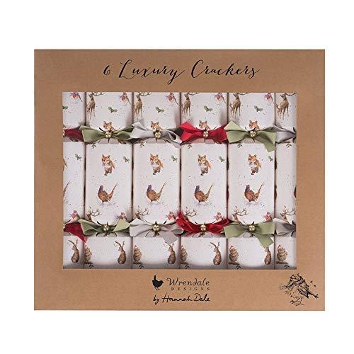 Wrendale Designs Knallbonbons für Weihnachten, mit Magneten, 6 Stück