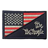 USA Stars & Stripes Men's American Flag We The People Tactical Morale Patch