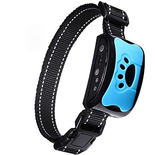 BOBOO Bark Collar [2019 Superhuman CHIP] Best for Small Medium Large Dogs, Most Effective Anti Bark Device 7 Sound Modes, No Harmful and No Pain for a Dog, Hypoallergenic.
