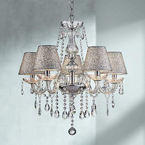 lampadario camera da letto barocco Saint Mossi 5 lampadari luminosi in cristallo