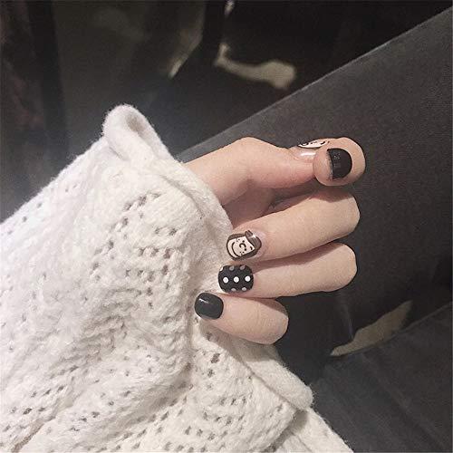 vervalste nagels dragen nail kunst kant-en-klare vervalste nagels dragen dagelijks cursus en wijze met diamantlijm 13