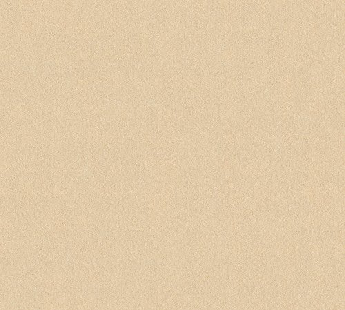 A.S. Création Vliestapete Scandinavian 2 Tapete Uni 10,05 m x 0,53 m beige metallic Made in Germany 353160 3531-60