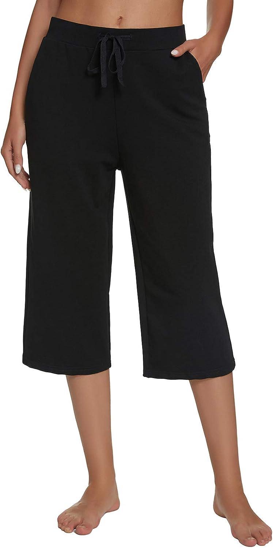 Max 59% OFF Mengya Women's Active Yoga Lounge Walking Pant Crop Baltimore Mall Jersey Capri