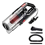 Goolsky Handheld Vacuum Cordless,Car Vacuum Cleaner DC 12V High Power 150W 6000PA Wet/Dry Handheld Portable