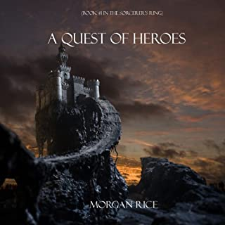 A Quest of Heroes audiobook cover art