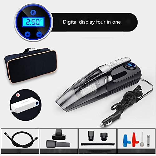 Lowest Prices! YSY-CY Portable Cordless Handheld Vacuums Car Vacuum,Cleaner 120W 3500Pa Powerful Suc...