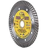 Delta Diamond Boss Hog Turbo 4 1/2-Inch Diamond Blade 7/8-5/8' Arbor...