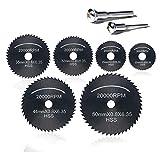 8pc HSS lama per seghe circolare, disco da taglio legno, (Set di lame per seghe circolare) per Rotary utensili...