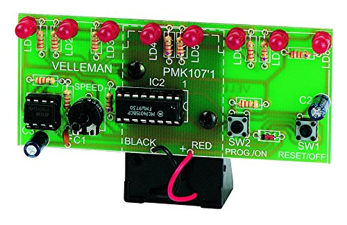 VELLEMAN - MK107 LED-Lauflicht, Mini-Kit 840016