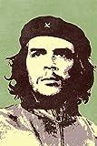 Pop Art Che Guevara Green Cool Wall Art Laminated Dry Erase Sign Poster 24x36