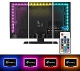 Vansky 2M LED TV Hintergrundbeleuchtung für HDTV / Gaming PC LED Streifen RGB Neon Akzent...