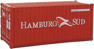 "Walthers Cornerstone 532019"" Container HAMBURG sydd modellbyggsats"