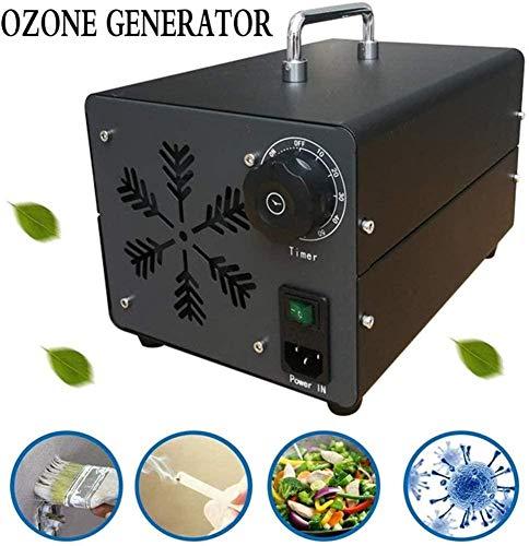 Commercial Ozone Generator Eliminador de olores Esterilizador de aire para el hogar, oficina, escuela, garaje, gimnasio, restaurante, hotel, cines, iglesia, purificador de aire (15000mg/h),40G