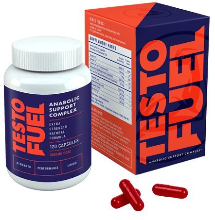 Testosterone Natural booster Extreme High Impact Testo Fuel Revolutionary 120Cap