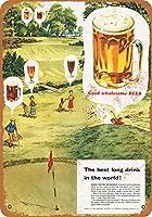 1956良い健康ビールとゴルフ