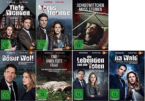 Nele Neuhaus 7 x Filme Paket u.a. Mordsfreunde, Tiefe Wunden, Eine unbeliebte Frau [DVD Set]
