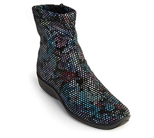 Arcopedico Lux Black Vitral Ankle Boot 8-8.5 M US