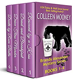 The New Orleans Go Cup Chronicles Vol 1-4: There's no place like New Orleans to have a good CRIME! by [Colleen Mooney]