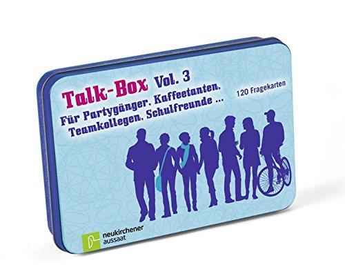 Talk-Box Vol. 3 - Für Partygänger, Kaffeetanten, Teamkollegen, Schulfreunde... 120 Fragekarten