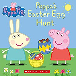 Easter books, peppa's easter egg hunt book