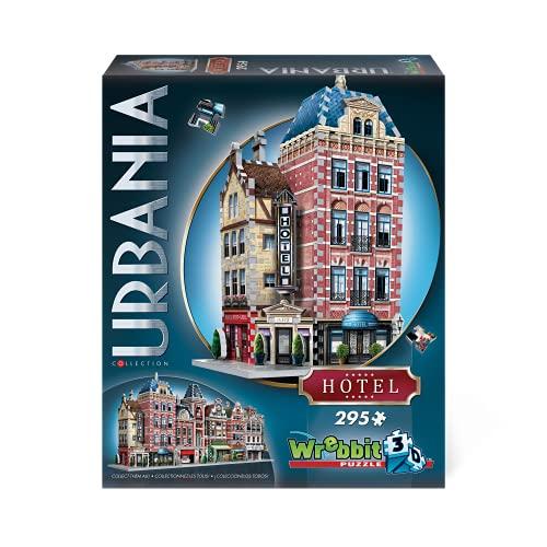 WREBBIT 3D Urbania Collection Hotel 3D Jigsaw Puzzle (295 Pieces)