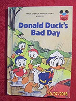 Donald Duck's Bad Day - Book  of the Disney's Wonderful World of Reading