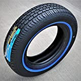 Tornel Classic All-Season Touring Radial Tire-205/75R14 205/75/14 205/75-14 95S Load Range SL 4-Ply WSW White Side Wall