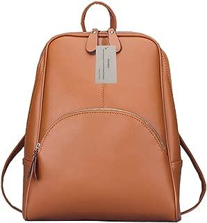 Aiseyi Backpack Women Casual Purse Daypack PU Leather School Shoulder Bag Girls