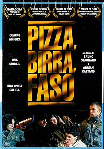 Pizza, birra, faso - ( Pizza, Cerveja, Cigarro ) Adrián Caetano