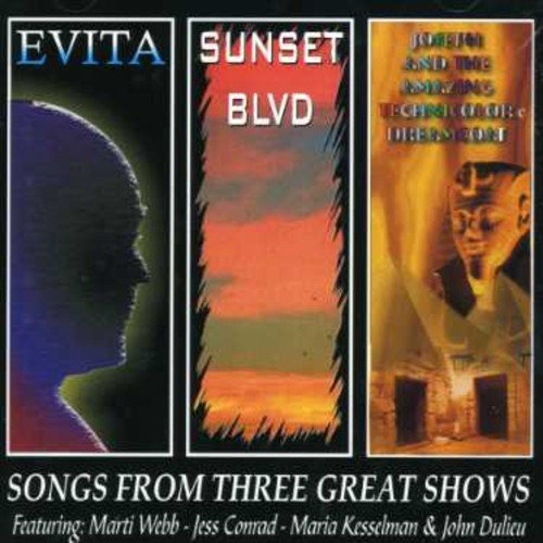 Songs from Evita/ Sunset Boulevard/ Joseph and The Technicolour Dreamcoat