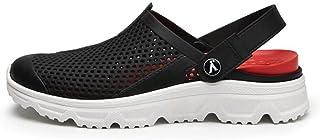 WYTX Summer Men Zuecos Slip On Zapatillas de Playa de Agua Transpirable Moda Crock Zapatos Amarillos Hombres Summer Wear S...
