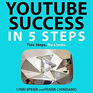 YouTube Success in 5 Steps audiobook cover art