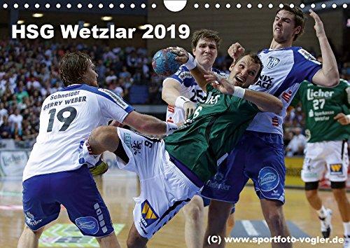 HSG Wetzlar - Handball Bundesliga 2019 (Wandkalender 2019 DIN A4 quer): HSG Wetzlar, Handball Bundesliga, Saison 2013/2014 (Monatskalender, 14 Seiten ) (CALVENDO Sport)