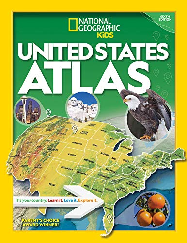 Compare Textbook Prices for National Geographic Kids U.S. Atlas 2020 6 Edition ISBN 9781426338212 by Kids, National