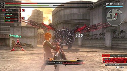God Eater 2, Rage Burst + God Eater, Resurrection PS4