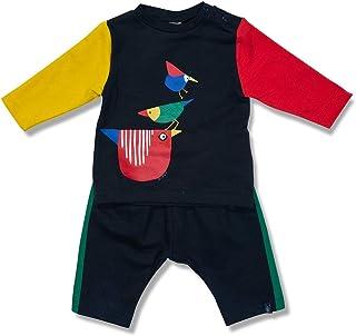 Conjunto Pássaros Azul Escuro Green - Bebê Menino