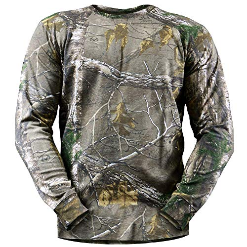 Rivers West Long Sleeve T-Shirt, Color: Realtree Xtra, Size: XL (7130-XTRA-XL)
