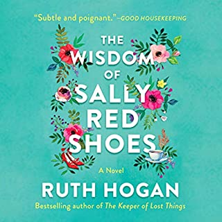 The Wisdom of Sally Red Shoes audiobook cover art