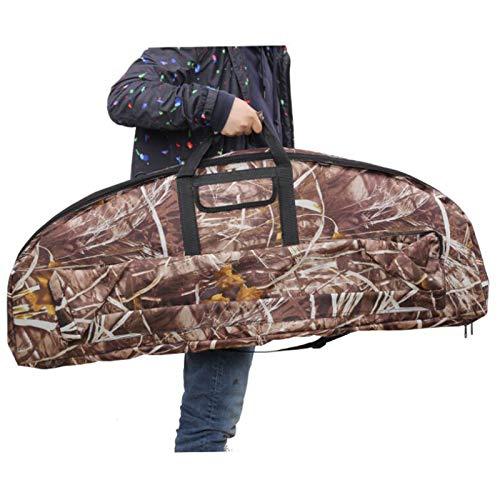 LUCKFY Compound-Bogen-Tasche - Archery Compound Bogen Rucksack Longbow Bag - Aufbewahrungstasche große Kapazitäts-Bogen-Tasche für Jagd-Schießen Schießübungen,Large Size