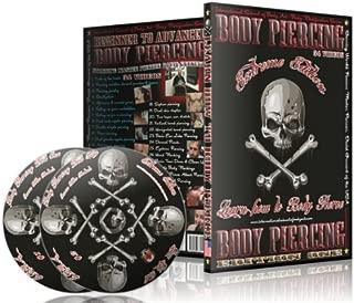 Learn how to Body Pierce videos - multi-disc DVD set