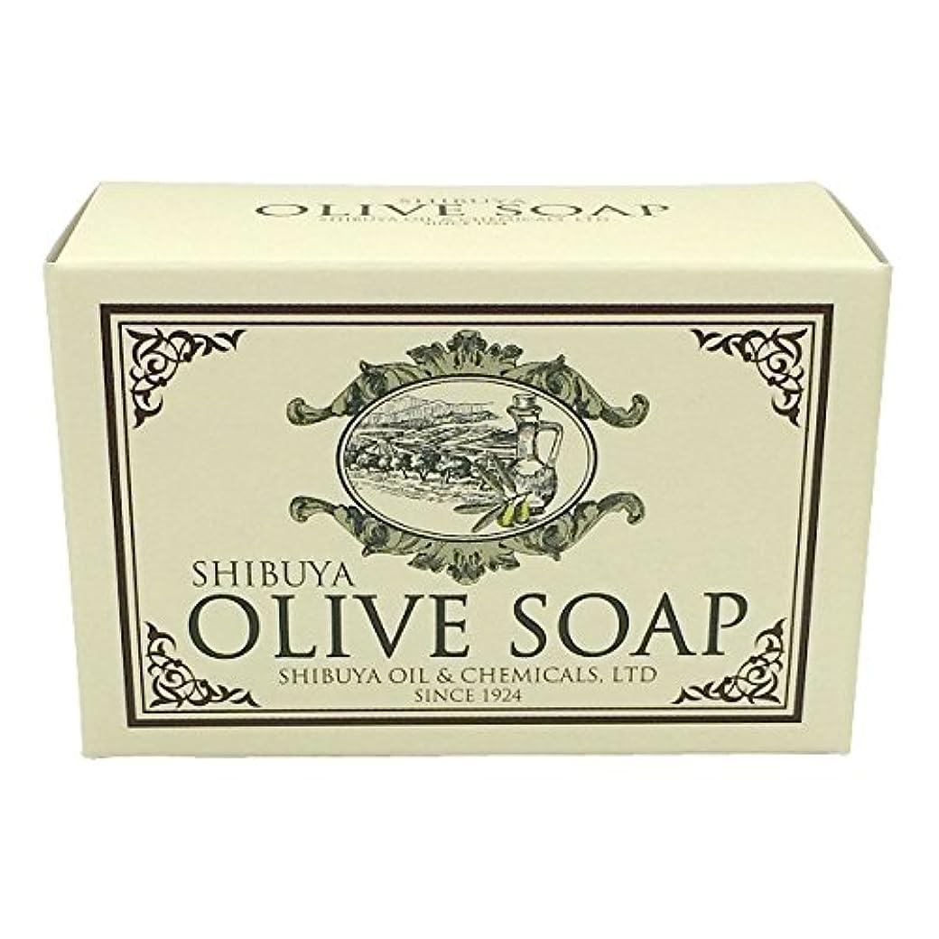 憂慮すべきパースブラックボロウ平らなSHIBUYA OLIVE SOAP (100G)