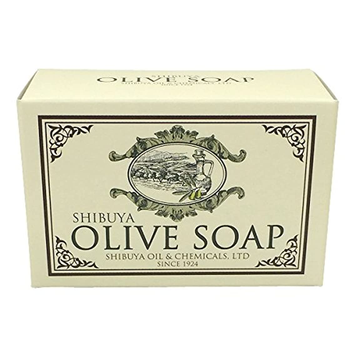 インシュレータ小包ピンチSHIBUYA OLIVE SOAP (100G)
