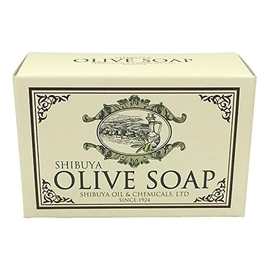 情緒的ブランデーのSHIBUYA OLIVE SOAP (100G)