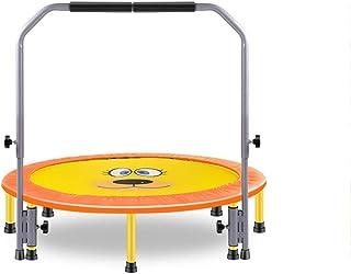 Trampoline Fitness Trampoline with Handles, Foldable Backboard Aerobic Training (maximum Load 150kg) Indoor trampoline (Co...