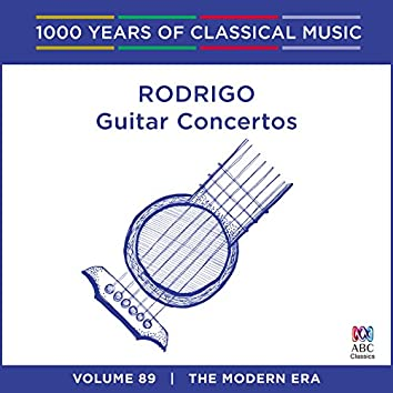 Rodrigo: Guitar Concertos (1000 Years Of Classical Music, Vol. 89)