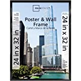 Mainstays 24x32 Trendsetter Poster and Picture Frame Black