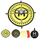 32 Inch Waterproof Collapsible Foldable Drone Landing Pad for DJI...