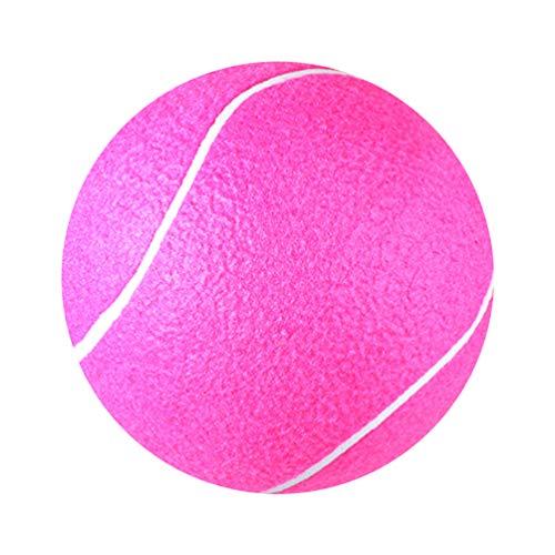 LIOOBO Riesentennisbälle 8-Zoll-Riesentennisball Scherzt Pädagogische Spielende Spielwaren für Spaß des Kindererwachsenen Haustier-Sports im Freien
