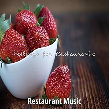Feelings for Restaurants